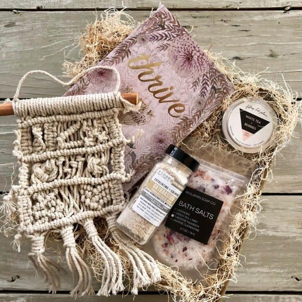 relaxation gift box for that busy women in your life kindred and kel wichita ks