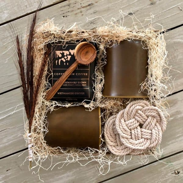 coffee lover gift basket wichita ks kindred and kel