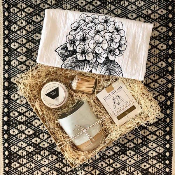 gift basket for her wichita ks kindred and kel