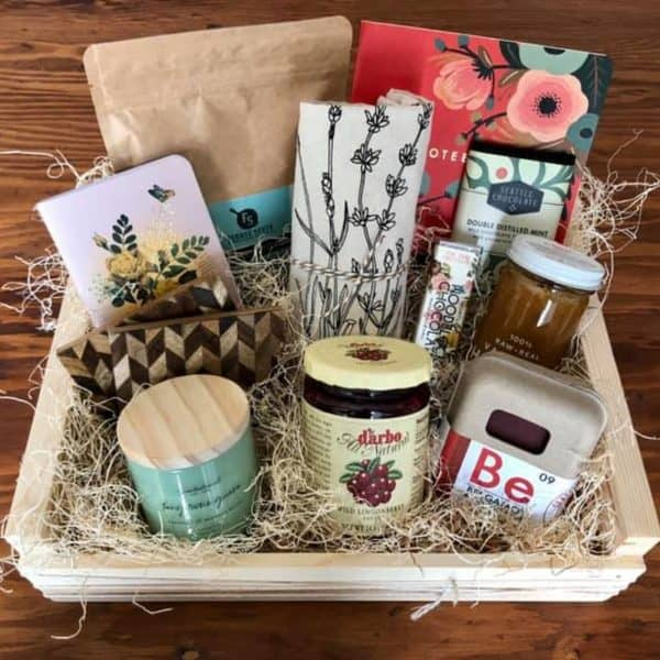 gift basket for that busy women in your life