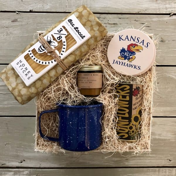 kansas housewarming gift basket wichita ks kindred and kel