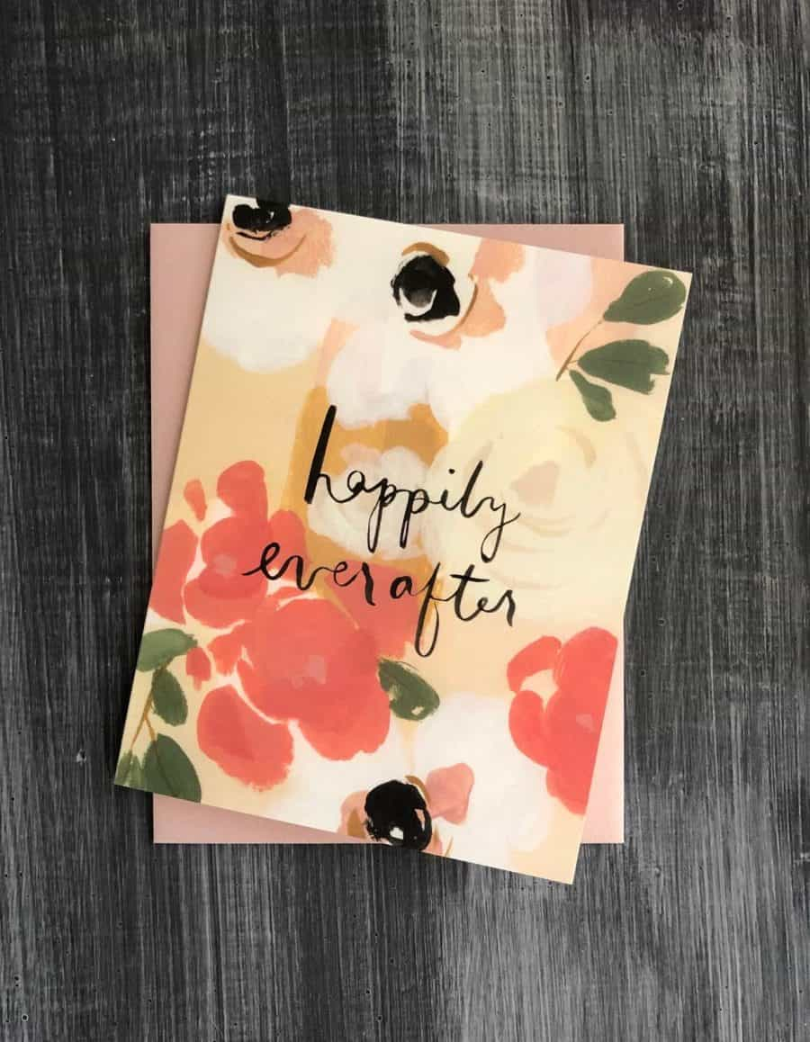 happily ever after notecard collection at kindred and kel giftboxes wichita ks