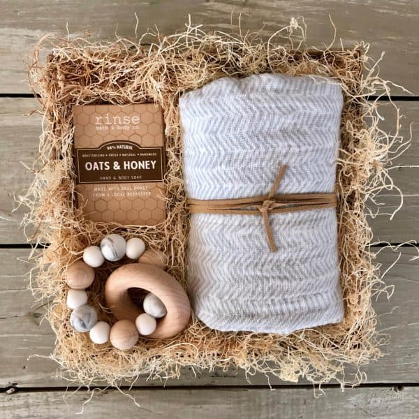 baby gift box wichita ks kindred and kel with sustainable products