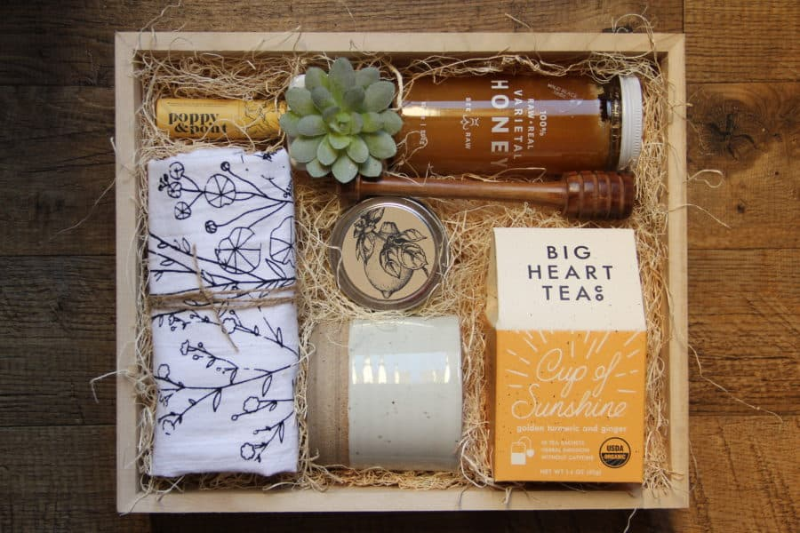 cup of sunshine gift box