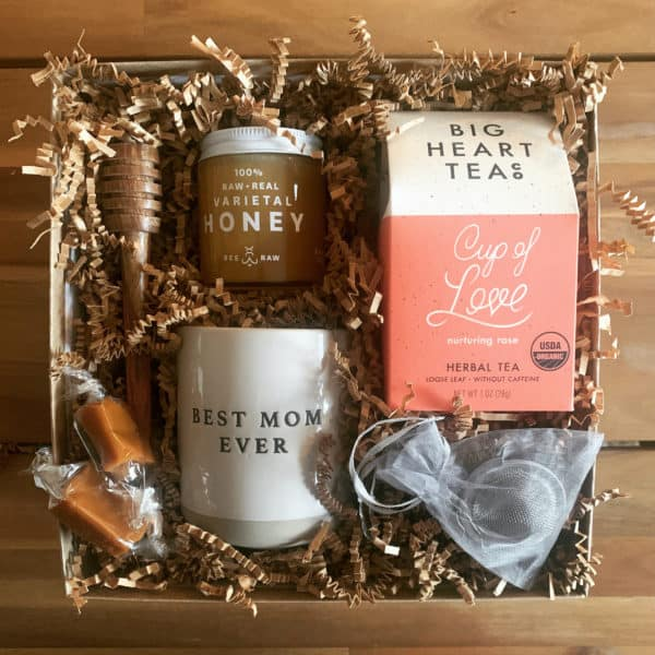 Mothers day gift box wichita ks love you mom tea lovers gift box