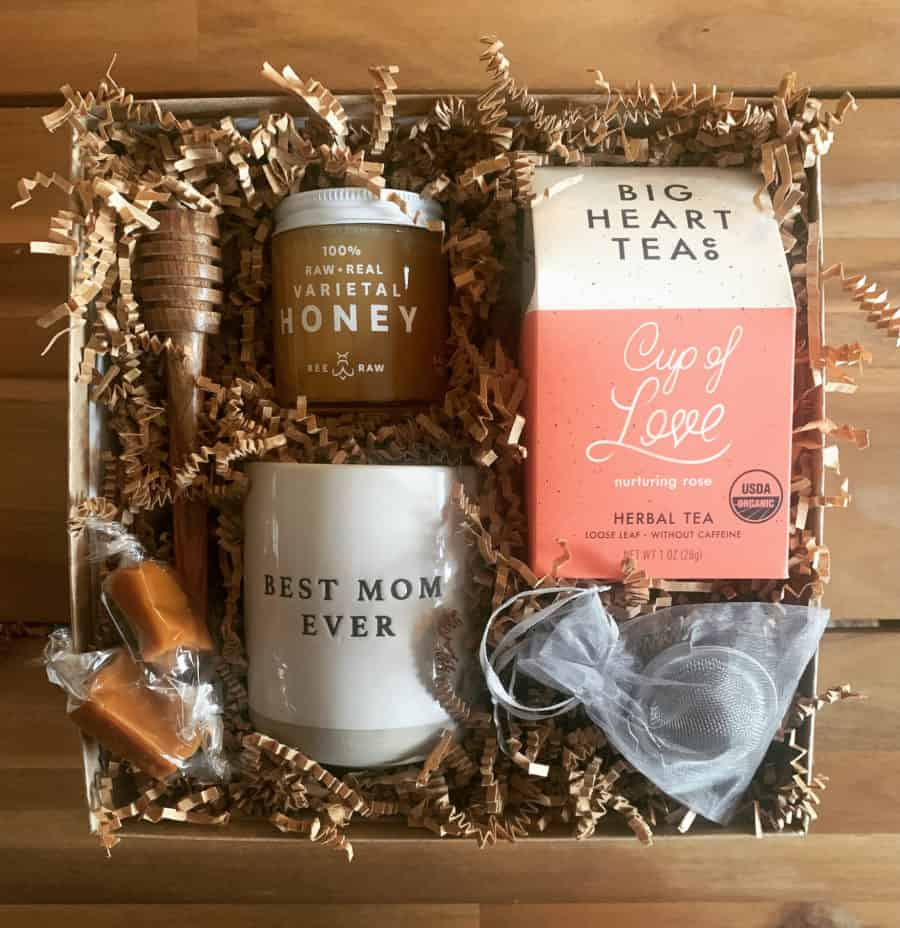 Mothers day gift box wichita ks love you mom tea lovers gift box