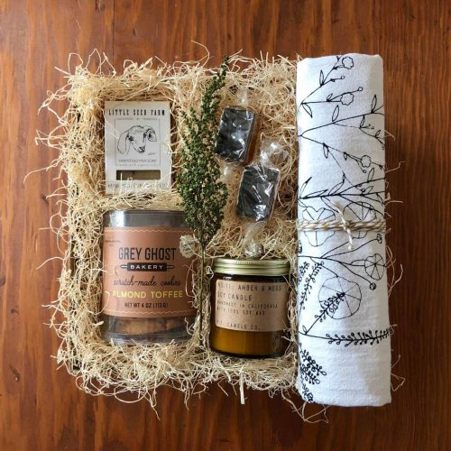 warmth and welcome gift box wichita ks housewarming gift